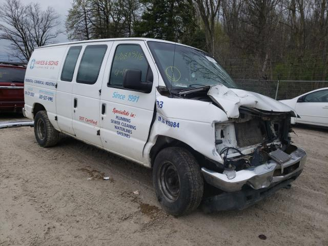 Salvage cars for sale from Copart Northfield, OH: 2012 Ford E150