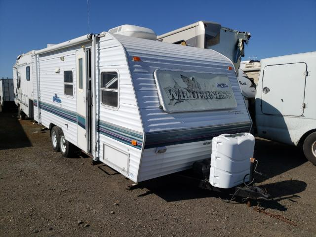 Fleetwood salvage cars for sale: 1999 Fleetwood Trailer
