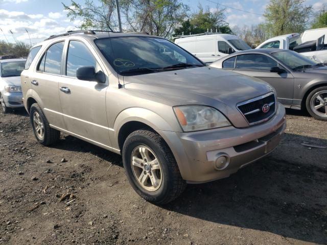 Salvage cars for sale from Copart Baltimore, MD: 2004 KIA Sorento EX