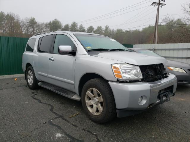 Salvage cars for sale from Copart Exeter, RI: 2004 Nissan Armada SE