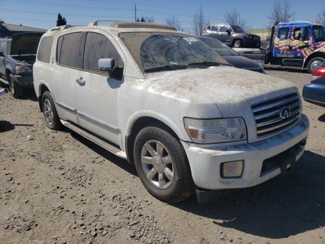 Infiniti salvage cars for sale: 2004 Infiniti QX56