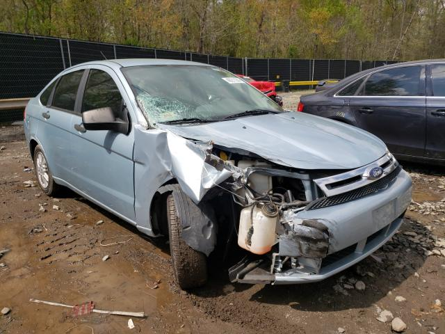 Salvage cars for sale from Copart Waldorf, MD: 2009 Ford Focus SE