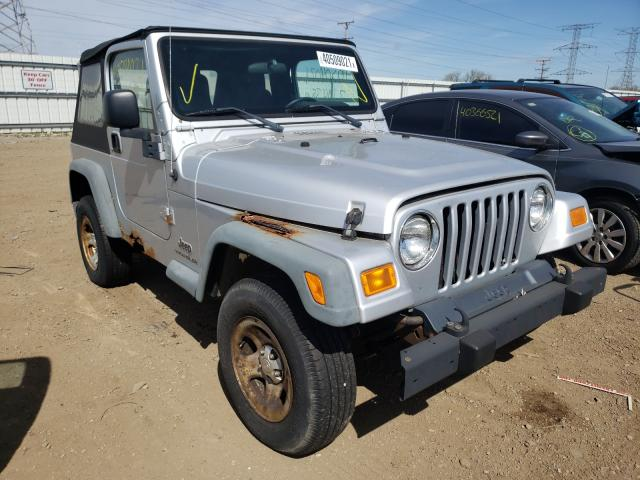 Salvage cars for sale from Copart Elgin, IL: 2004 Jeep Wrangler
