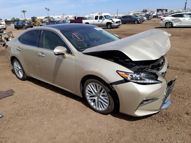 Salvage cars for sale from Copart Phoenix, AZ: 2018 Lexus ES 350