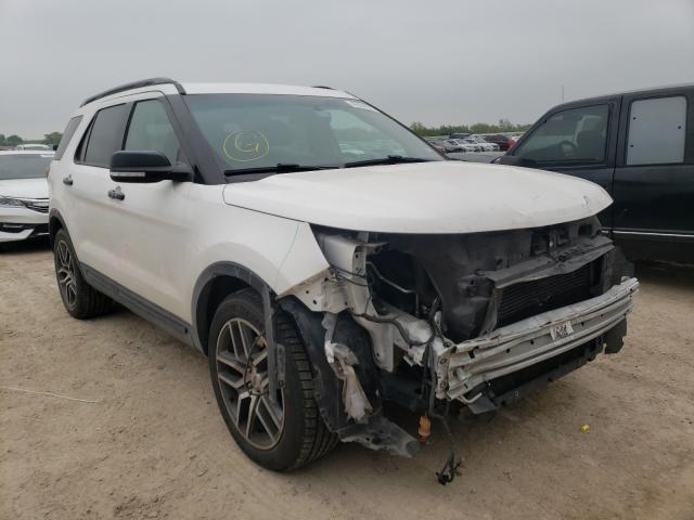 Salvage cars for sale from Copart Temple, TX: 2016 Ford Explorer S
