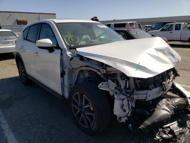 Vehiculos salvage en venta de Copart Hayward, CA: 2018 Mazda CX-5 Grand Touring