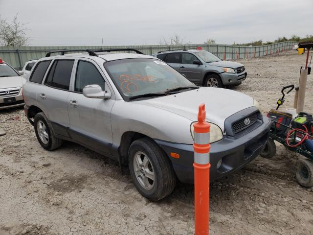 Salvage cars for sale from Copart Kansas City, KS: 2002 Hyundai Santa FE G