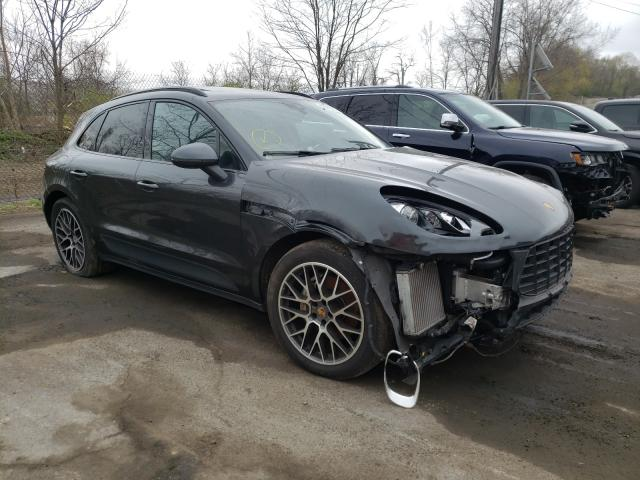 Porsche salvage cars for sale: 2017 Porsche Macan S