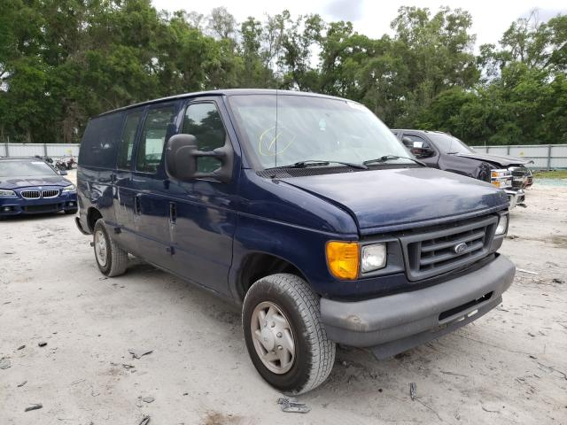 Salvage cars for sale from Copart Ocala, FL: 2007 Ford Econoline