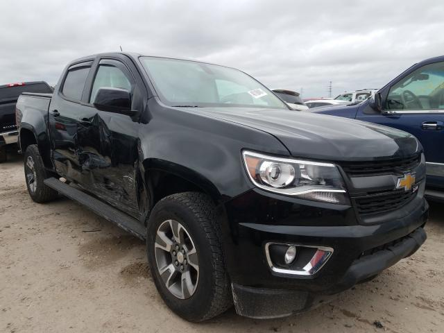 Salvage cars for sale from Copart Houston, TX: 2018 Chevrolet Colorado Z