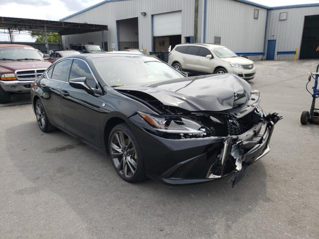 Salvage cars for sale from Copart Orlando, FL: 2019 Lexus ES 350