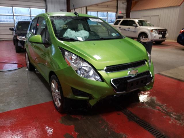 Salvage cars for sale from Copart Angola, NY: 2015 Chevrolet Spark 1LT
