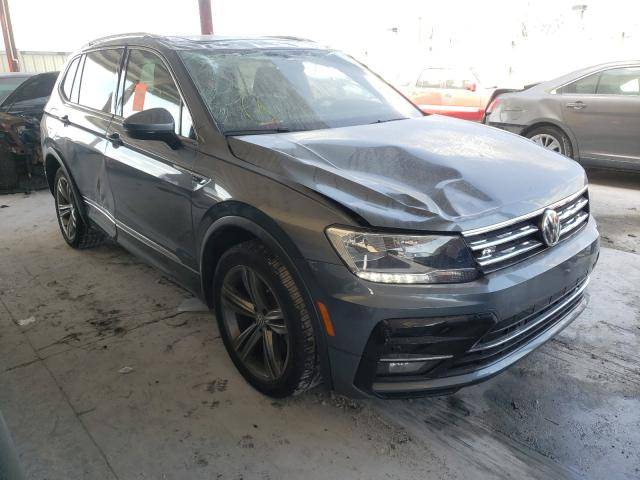 Salvage cars for sale from Copart Homestead, FL: 2018 Volkswagen Tiguan SE