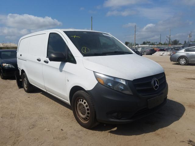 Salvage cars for sale from Copart West Palm Beach, FL: 2016 Mercedes-Benz Metris