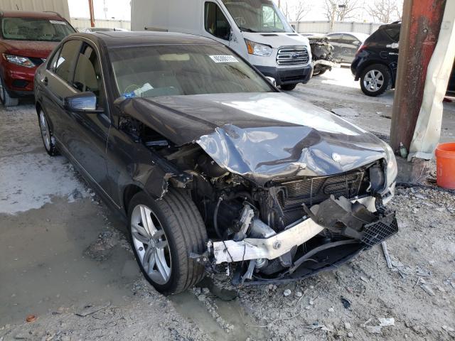 Vehiculos salvage en venta de Copart Homestead, FL: 2013 Mercedes-Benz C 250