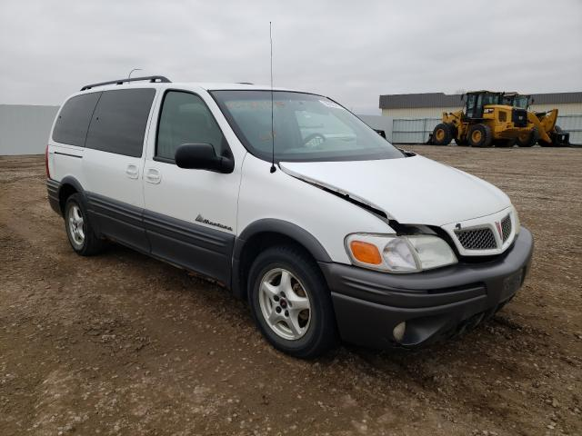 Salvage cars for sale from Copart Bismarck, ND: 2004 Pontiac Montana