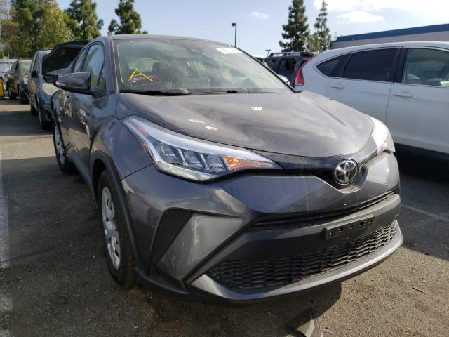 Salvage cars for sale from Copart Rancho Cucamonga, CA: 2021 Toyota C-HR