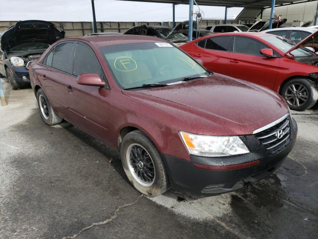 Salvage cars for sale from Copart Anthony, TX: 2009 Hyundai Sonata GLS