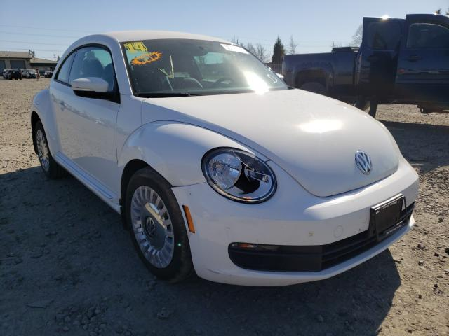 Salvage cars for sale from Copart Eugene, OR: 2014 Volkswagen Beetle