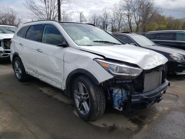 Salvage cars for sale from Copart Marlboro, NY: 2018 Hyundai Santa FE S