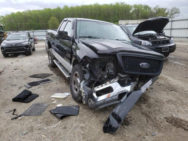 Salvage cars for sale from Copart Hampton, VA: 2005 Ford F150