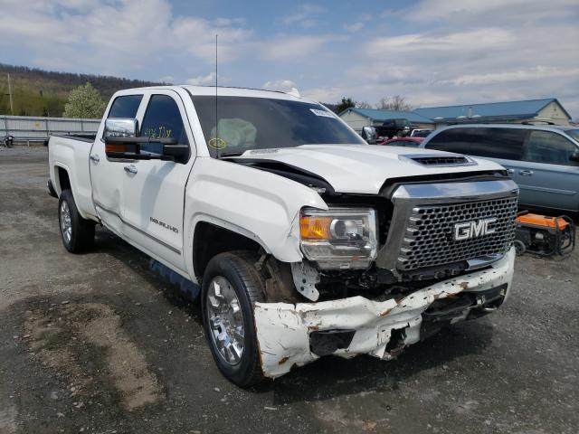 Salvage cars for sale from Copart Grantville, PA: 2017 GMC Sierra K25