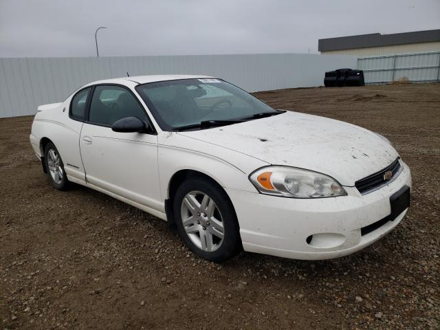 Salvage cars for sale from Copart Bismarck, ND: 2007 Chevrolet Monte Carl