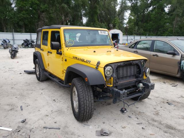 Salvage cars for sale from Copart Ocala, FL: 2015 Jeep Wrangler U