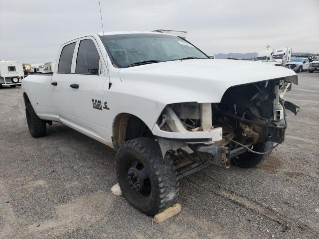 Salvage cars for sale from Copart Anthony, TX: 2017 Dodge RAM 3500 ST