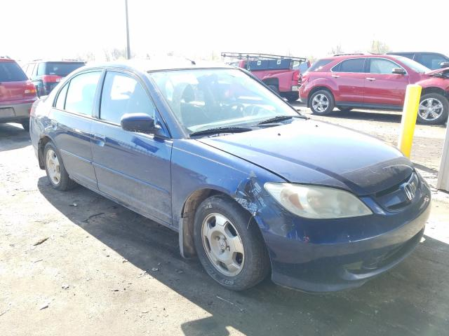 2005 Honda Civic Hybrid en venta en Fort Wayne, IN