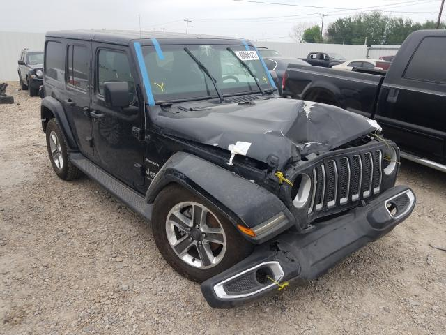 Salvage cars for sale from Copart Mercedes, TX: 2018 Jeep Wrangler U