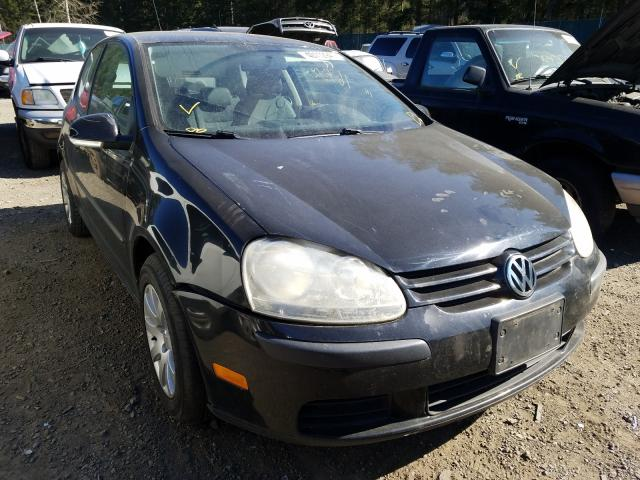 Salvage cars for sale from Copart Graham, WA: 2007 Volkswagen Rabbit