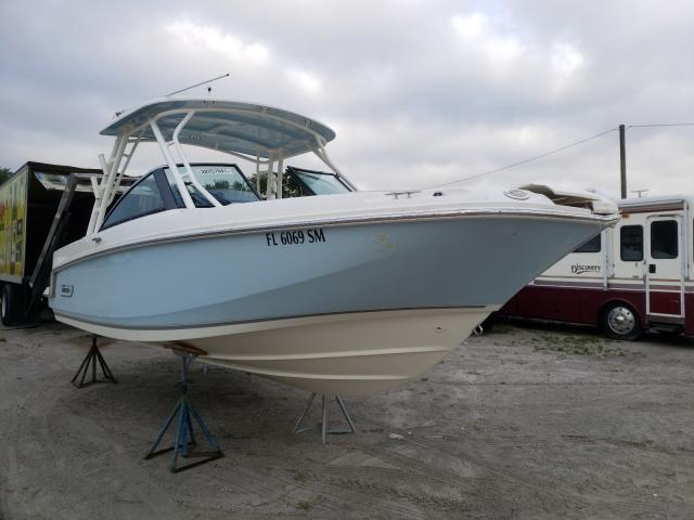 Salvage cars for sale from Copart Riverview, FL: 2019 Boston Whaler 230 Vantag