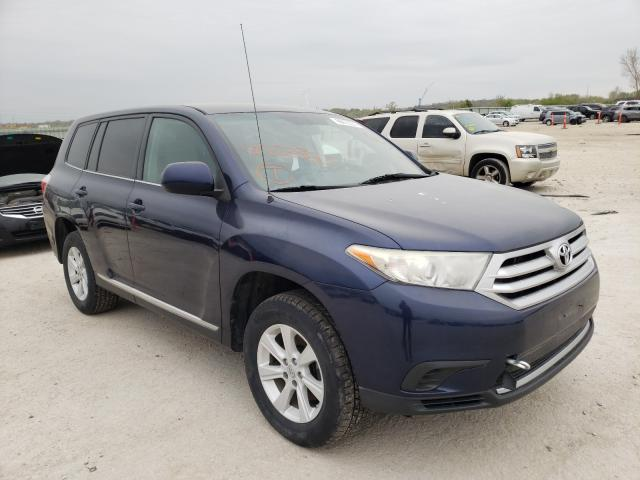 Salvage cars for sale from Copart Kansas City, KS: 2012 Toyota Highlander