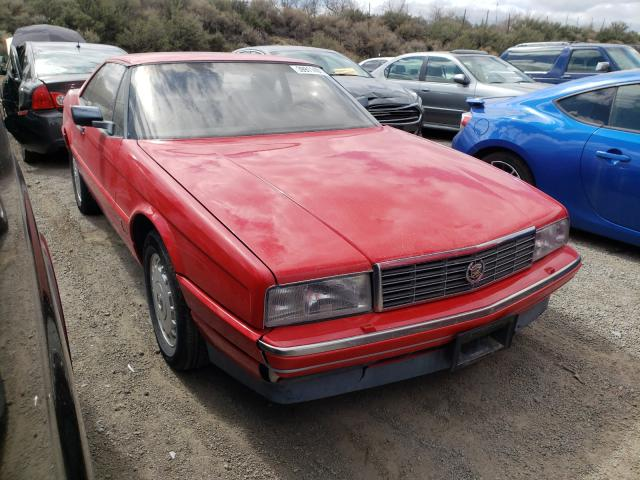 Cadillac Allante salvage cars for sale: 1988 Cadillac Allante