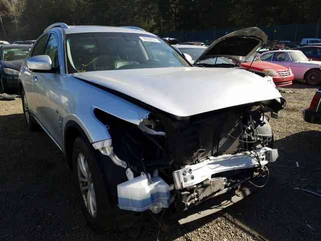 Infiniti salvage cars for sale: 2017 Infiniti QX70