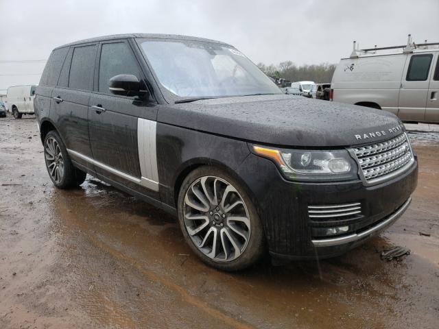 Land Rover Vehiculos salvage en venta: 2017 Land Rover Range Rover