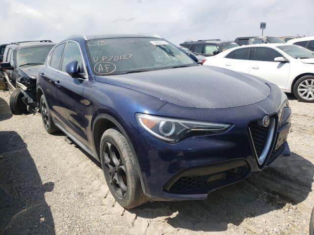 Salvage cars for sale from Copart Kansas City, KS: 2018 Alfa Romeo Stelvio