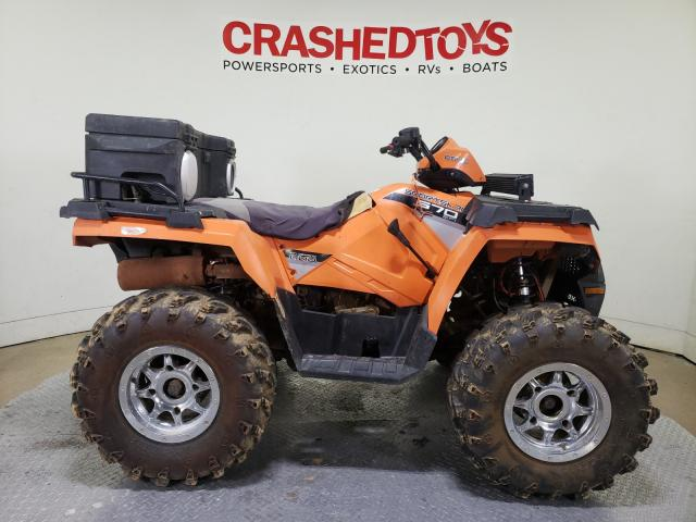 Salvage cars for sale from Copart Dallas, TX: 2016 Polaris Sportsman