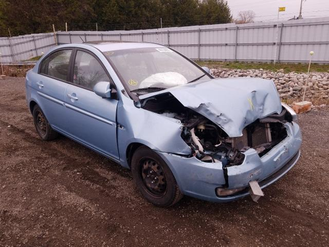 Salvage cars for sale from Copart London, ON: 2009 Hyundai Accent GLS