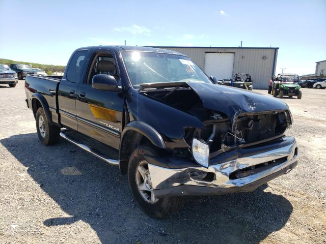 Salvage cars for sale from Copart Chatham, VA: 2002 Toyota Tundra ACC