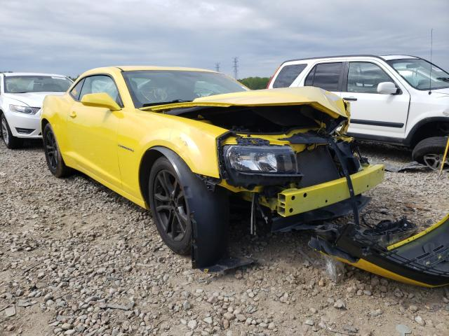Salvage cars for sale from Copart Memphis, TN: 2015 Chevrolet Camaro LS