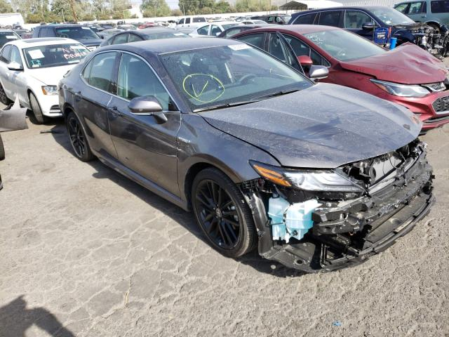 Salvage cars for sale from Copart Colton, CA: 2021 Toyota Camry XSE