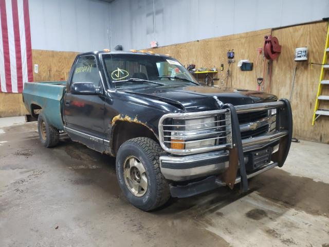 Salvage cars for sale from Copart Kincheloe, MI: 1995 Chevrolet GMT-400 K1
