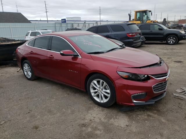 Salvage cars for sale from Copart Hammond, IN: 2018 Chevrolet Malibu LT
