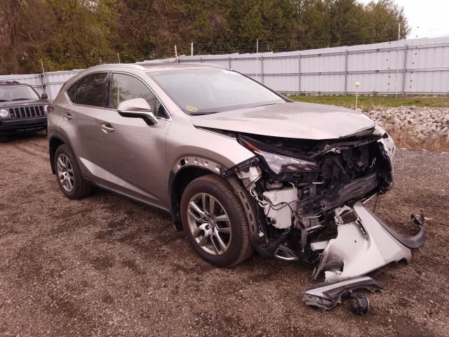 Salvage cars for sale from Copart London, ON: 2015 Lexus NX 200T