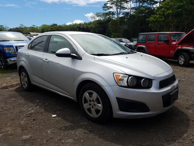 Salvage cars for sale from Copart Kapolei, HI: 2016 Chevrolet Sonic LS