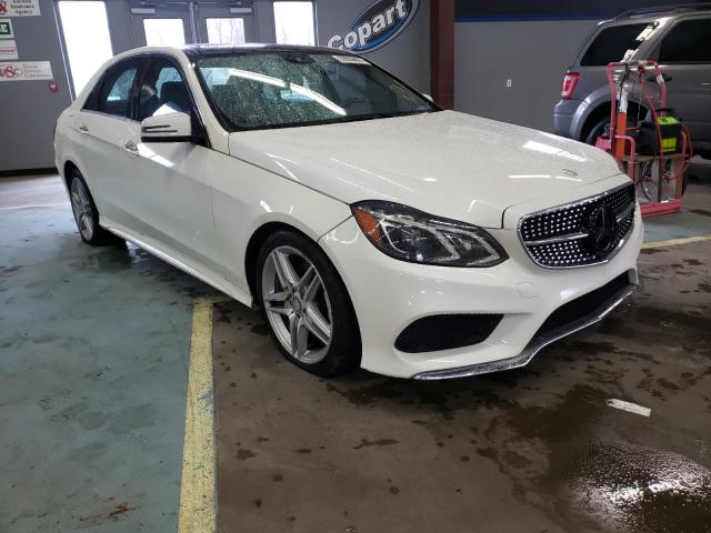 Salvage cars for sale at East Granby, CT auction: 2014 Mercedes-Benz E 350 4matic