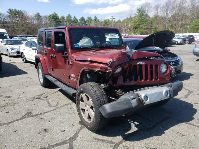 Salvage cars for sale from Copart Exeter, RI: 2010 Jeep Wrangler U