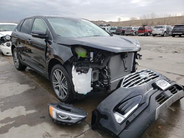Salvage cars for sale from Copart Littleton, CO: 2020 Ford Edge Titanium